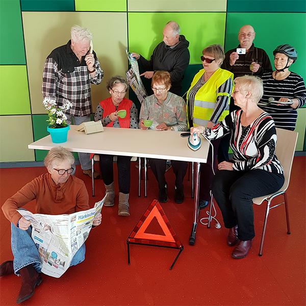 Theater für mehr Sicherheit