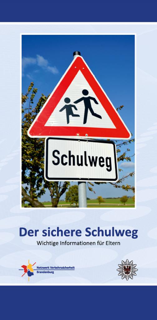 """Hier gelangen Sie zum Folder """"Der sichere Schulweg"""""""