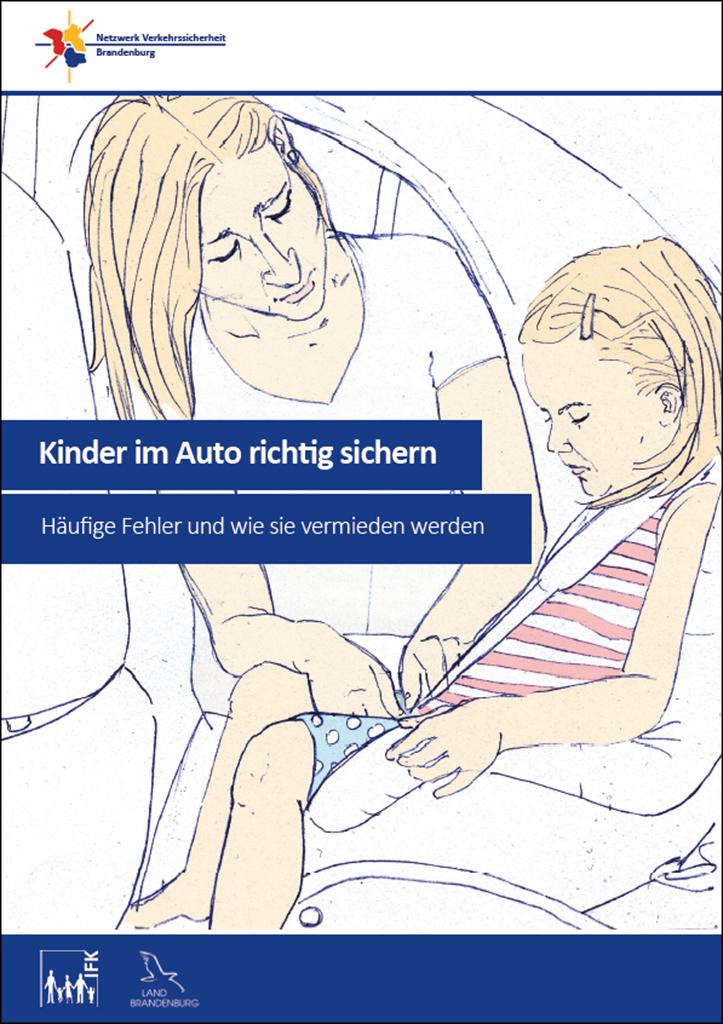 Kinder im Auto richtig sichern