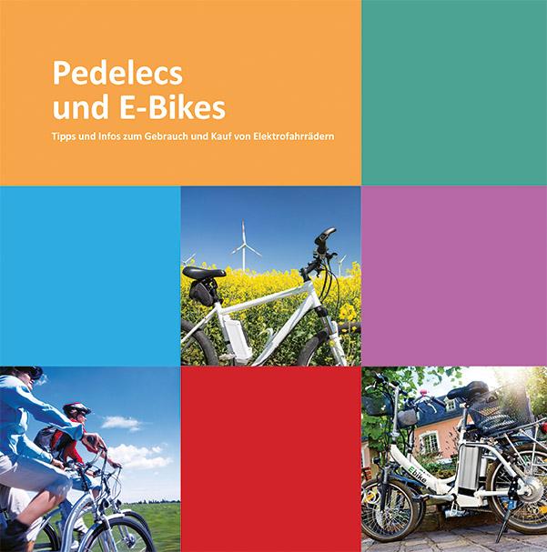 """Hier gelangen Sie zur Broschüre """"Pedelecs und E-Bikes"""""""