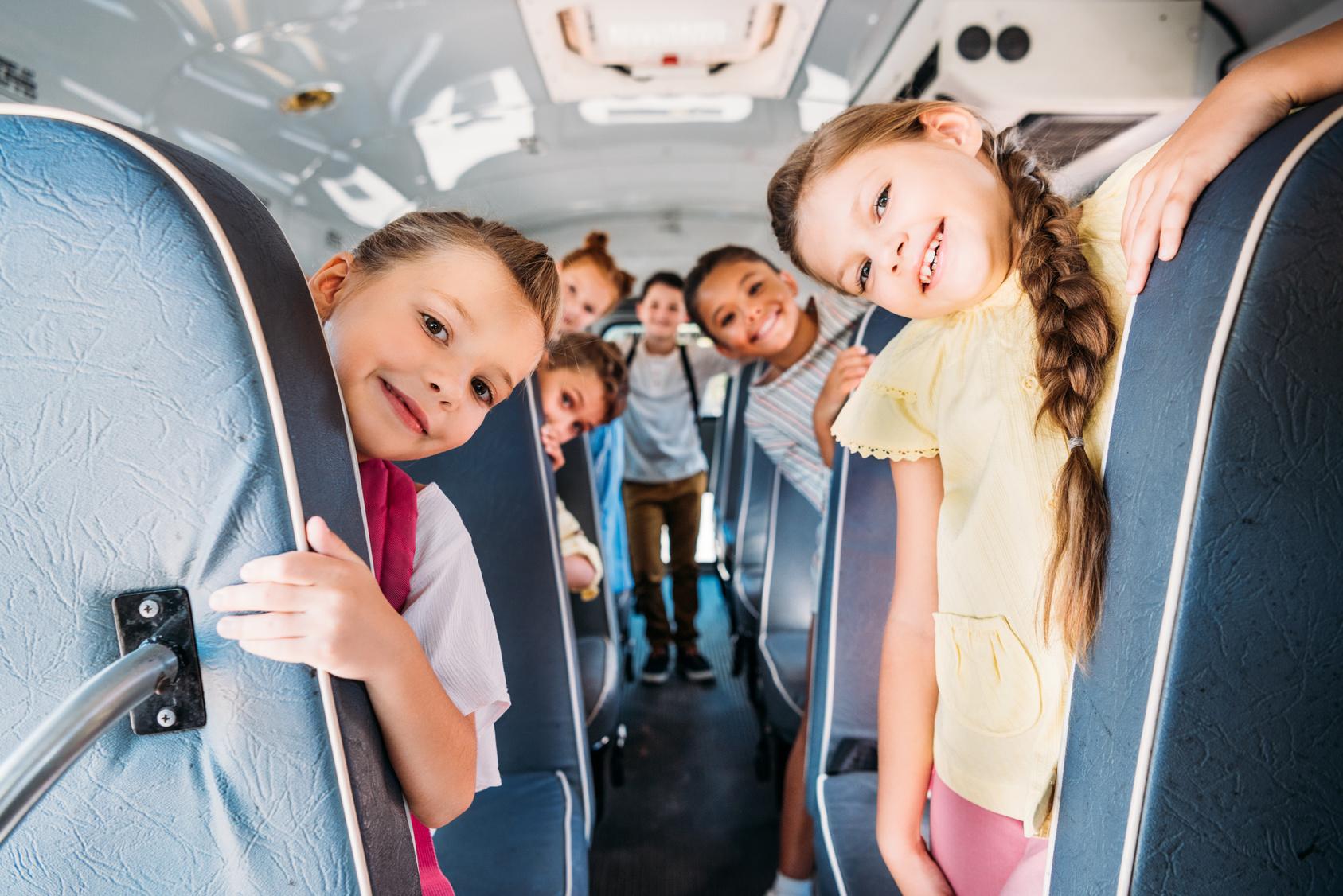 Der Schulweg im Elterntaxi